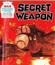 A Fleetway War Picture Library Pocket Comic Book Magazine #1843 SECRET WEAPON