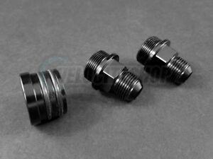 Oil-Catch-Can-Block-Fittings-M28-to-10AN-and-Plug-Black-B18B-B20B
