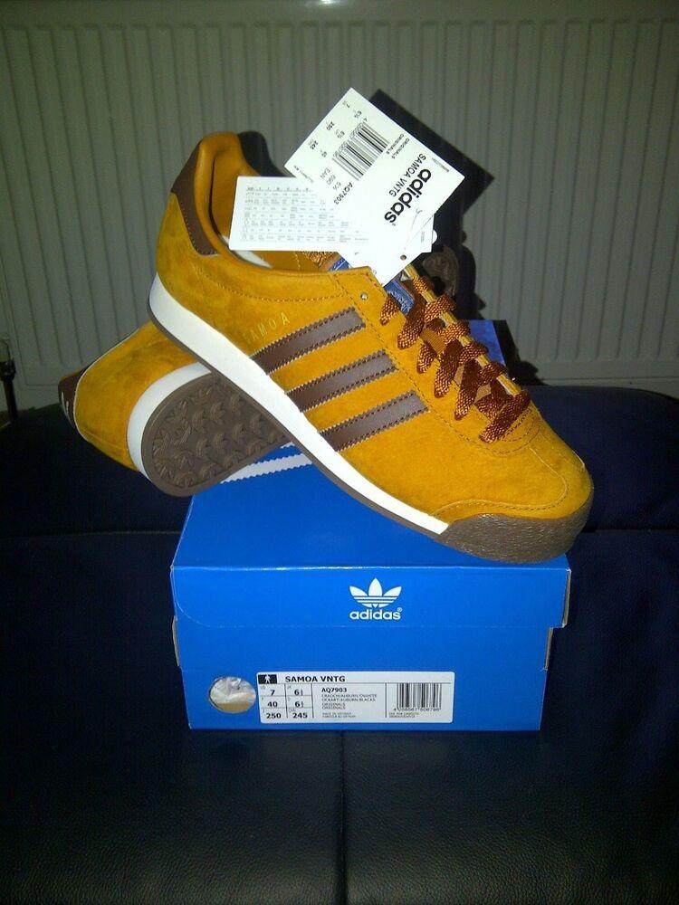 VINTAGE... Adidas Samoa Originals Vintage. Unisexe Baskets Taille 6.5uk EUR 40-