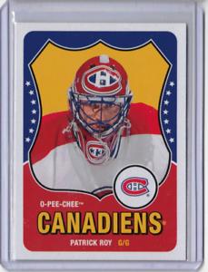 PATRICK-ROY-10-11-OPC-O-Pee-Chee-Retro-SP-Legends-Hockey-Card-Parallel-594