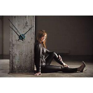 Details zu Uhren Wand Aluminium Design Moderne Avantgarde Trend Salon Büro