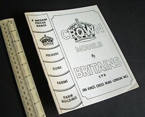 1940s-1980s-Crown-Models-by-Britain-039-s-Ltd-Facsimile-Catalogue-Economy-Range
