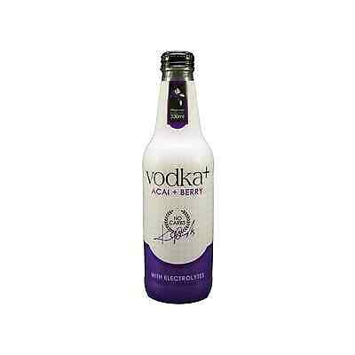 Vodka Plus Acai and Berry 330mL pack of 4