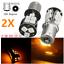 2X-LAMPADINE-LED-18-SMD-5050-BAU15S-1156-PY21W-CANBUS-LUCI-AMBRA-LAMPADA miniatura 1