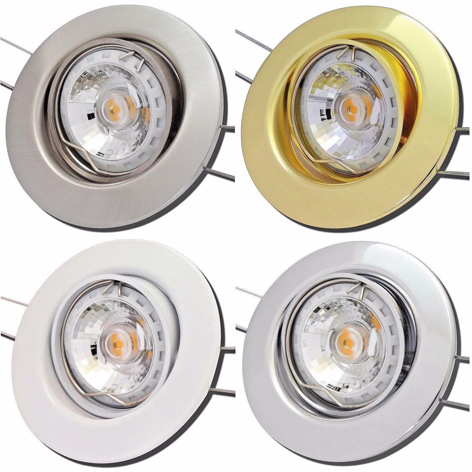 LED Einbauleuchten Lucy   7Watt   DIMMBAR   230V   Reflektor COB   EEK A+  IP20