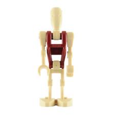 Lego sw 0347 Battle Droid Security Straight Arm Dark Red Torso 7877 Naboo Starfi