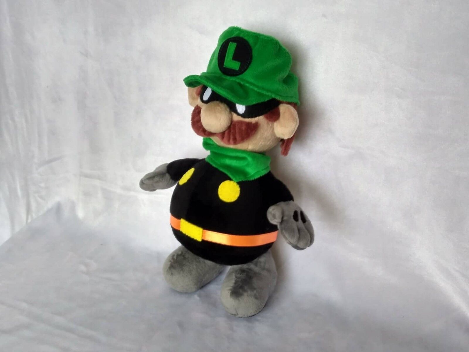 Toy inspiROT by super paper mario mr l mascot made to order