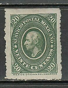 Mexico - Mail 1884 Yvert 85 MH Character