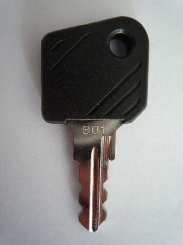 Schlüssel 801 Zündschlüssel Stapler Gabelstapler key Ameise Linde