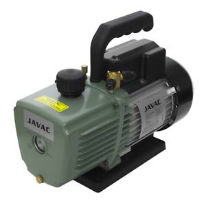 Javac CC-141 5 CFM 2 Two Stage Air Conditioning A//C Refrigeration Vacuum Pump