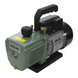 Javac CC-141 5 CFM 2 Two Stage Air Conditioning A//C Refrigeration Vacuum Pump