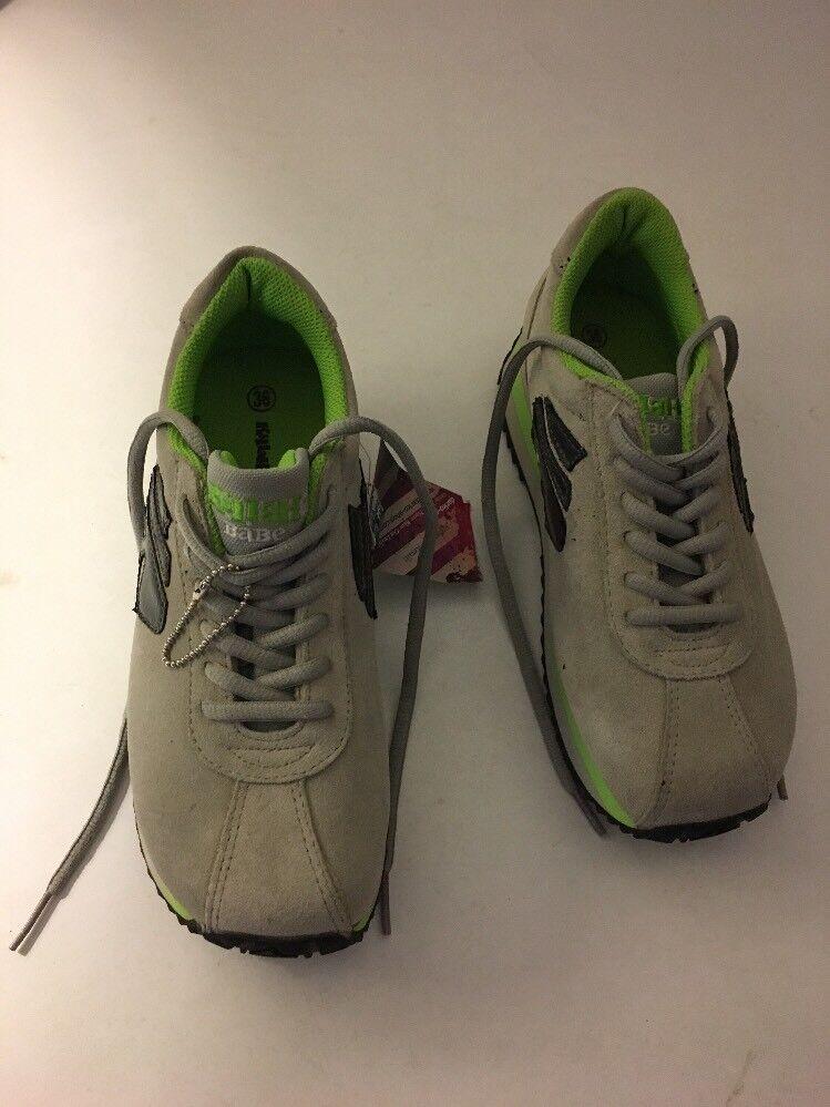 Killah Babe Miss Sixty platform grigio verde scarpe Dimensione EUR 36 US 6 new with tag
