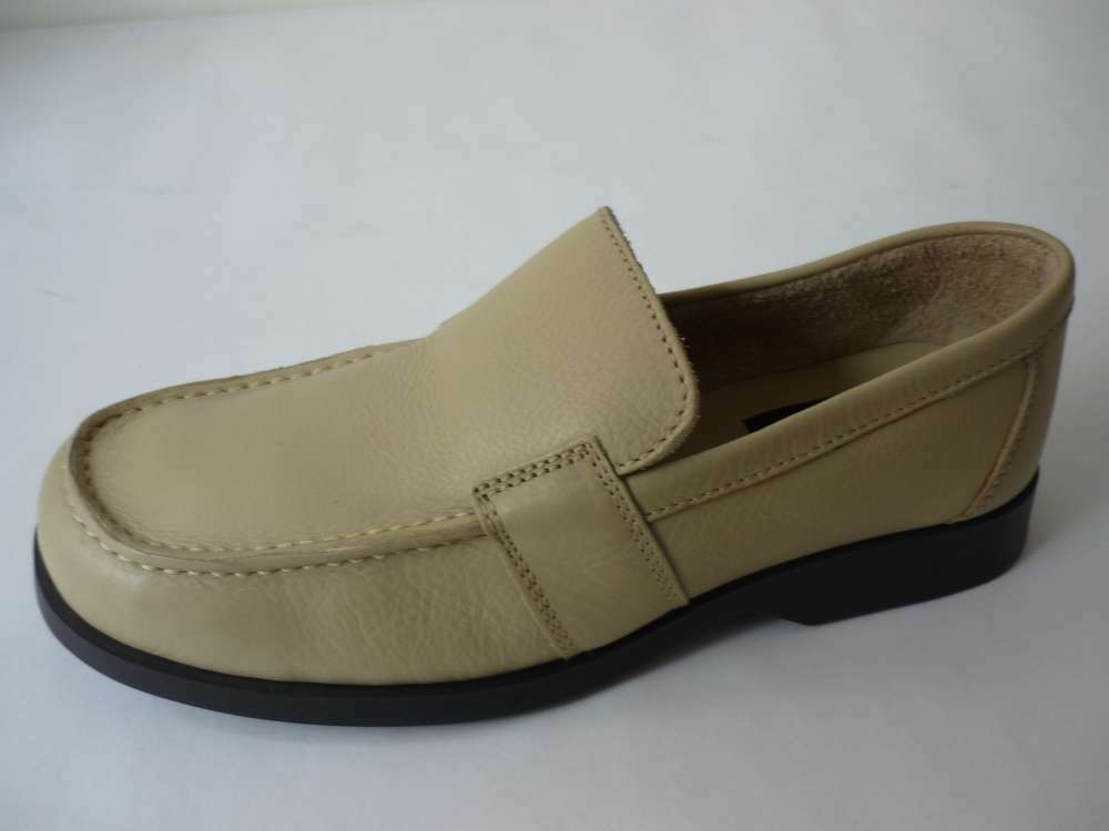 Aerosoles Chaussures Pantoufles 8 (42) Beige Cuir Chaussures Basses Nouveau