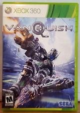 Vanquish (Xbox 360, 2010) CASE w/MANUAL & DISC *FREE SHIPPING*