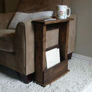 Image Is Loading Solid Wood Narrow Side Table With Storage Various