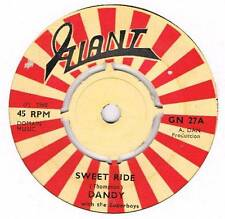 DANDY Sweet ride / Up the hill Giant GN 27 Rare rocksteady gem from 1968