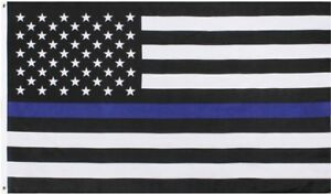 Subdued-Thin-Blue-Line-US-Flag-Support-The-Police-American-Flag-3-039-x-5-039