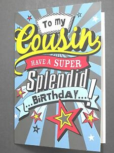 Cousin Birthday Card Cards