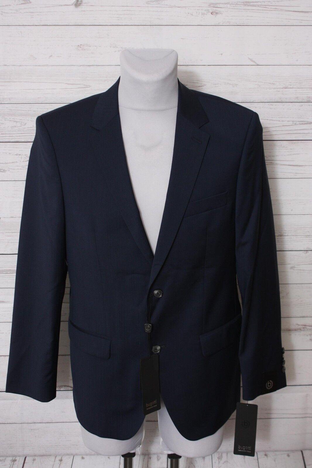 Bugatti Herren Anzug, Gr. 48, Blau
