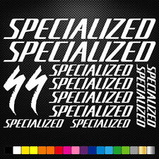 Compatible Specialized Vinyl Decal Stickers Bike Frame Cycle Cycling Bicycle Mtb