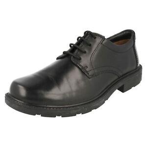 Sparen Sie 50-70% kett Clarks Herren Schlupfloch Uhr Schwarzes Leder 'g' Passform Schuhe r28a