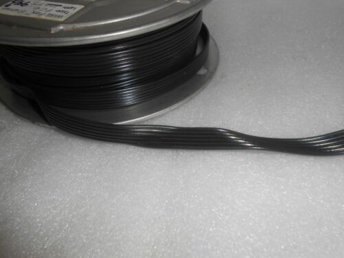 6/' FC6   6-WIRE BLACK FLAT CABLE MTH A.F 22-GAUGE FOR LIONEL TRAINS