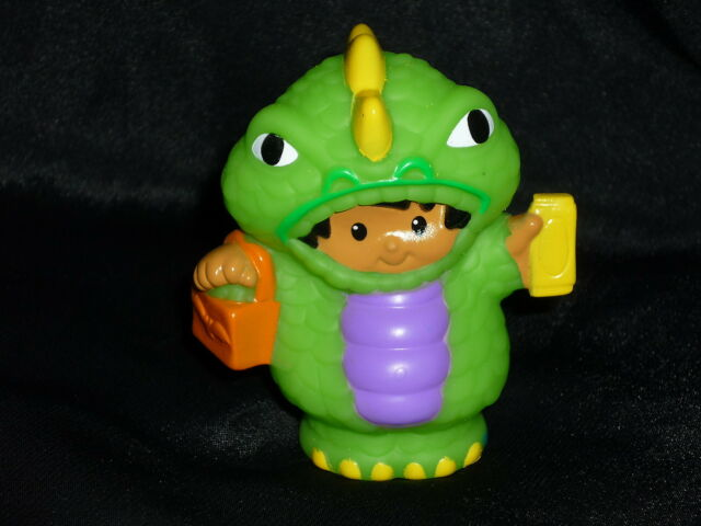 Fisher Price Little People Halloween Boy Monster New