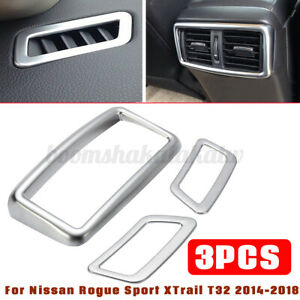 Car-Dashboard-Air-Vent-Cover-For-Nissan-Rogue-Sport-XTrail-T32-2014-2018-K