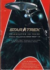 Star Trek Celebrating 40 Years SE Movie Collection NEU OVP Sealed Deutsche Ausg