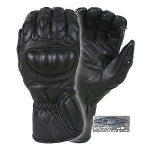 New Damascus Worldwide Riot Control Gloves Black Leather Large (Model# CRT100LG)