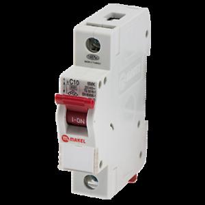 1-polig 16A Bemessungsstrom Leitungsschutzschalter C-Typ Sicherungsautomat