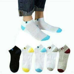 Men-Invisible-Socks-Soft-Cotton-Mesh-Breathable-Short-Ankle-Boat-Socks-Retro