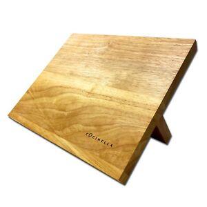 Magnet-Messerblock-Holz-Magnetischer-Kuechenmesser-Messerhalter-Messer-Leiste