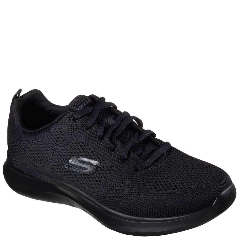 Skechers Para Hombre Quantum Flex Rood Cross Training Negro 13 D (M) nos