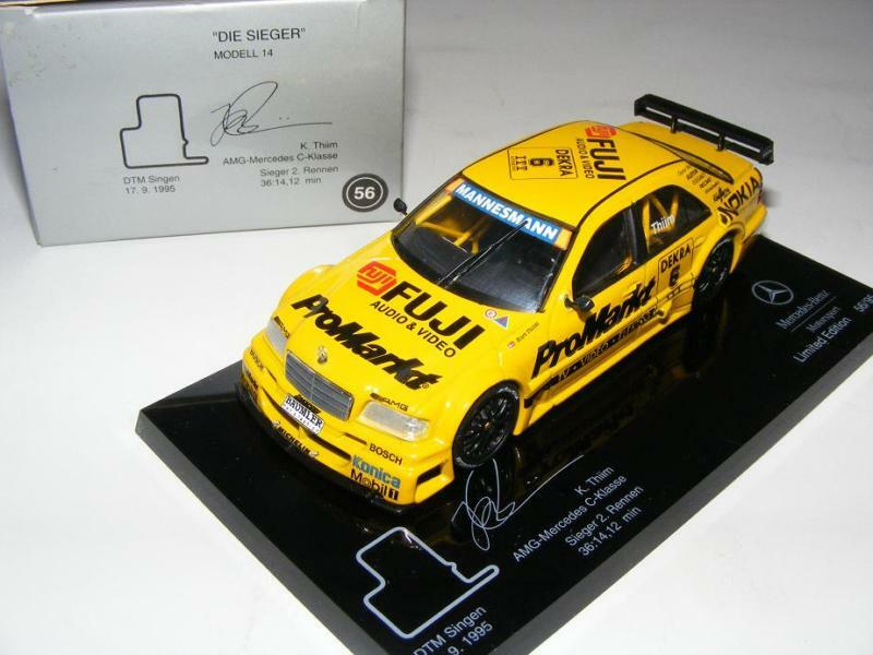 1 43 Minichamps AMG Mercedes C DTM 94  Die Sieger   14