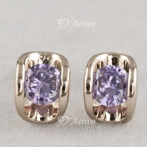 18k-rose-gold-gf-made-with-Swarovski-crystal-purple-stud-fashion-earrings-AEIWO