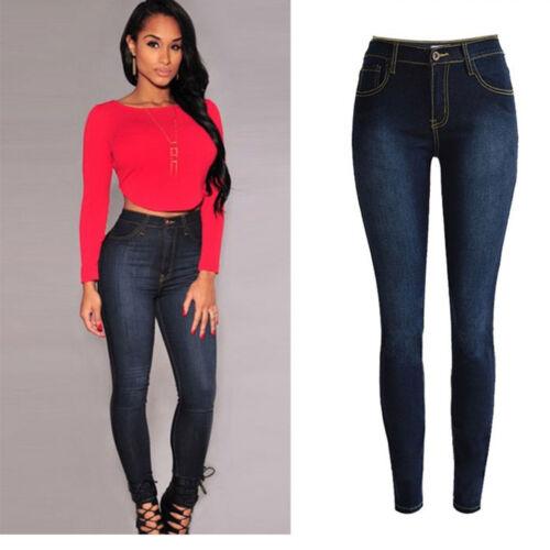 2017 Cheapest Womens Denim Skinny Jeans Stretch Pencil Trousers Slim Long Pants