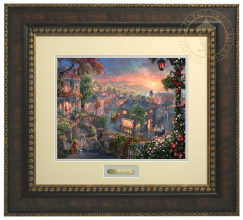 Thomas Kinkade Disney Lady and the Tramp Prestige Home Collection