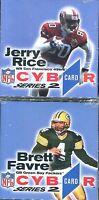 Nfl Cyber Card Series 2 - Jerry Rice & Brett Favre