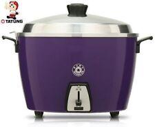 NEW TATUNG 10 CUP PERSON Rice Cooker /Steamer Pot TAC-10L (PURPLE) 110V SUS304
