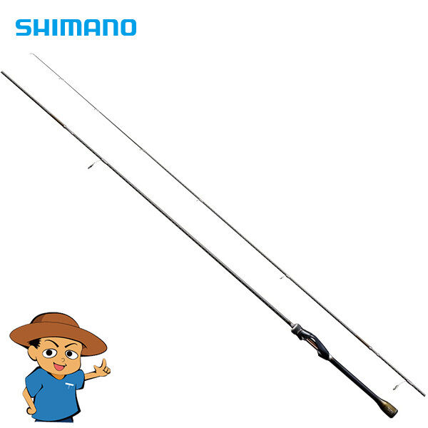 Shimano SOARE XTUNE ajing S604L-S Light 6'4  fishing spinning rod pole