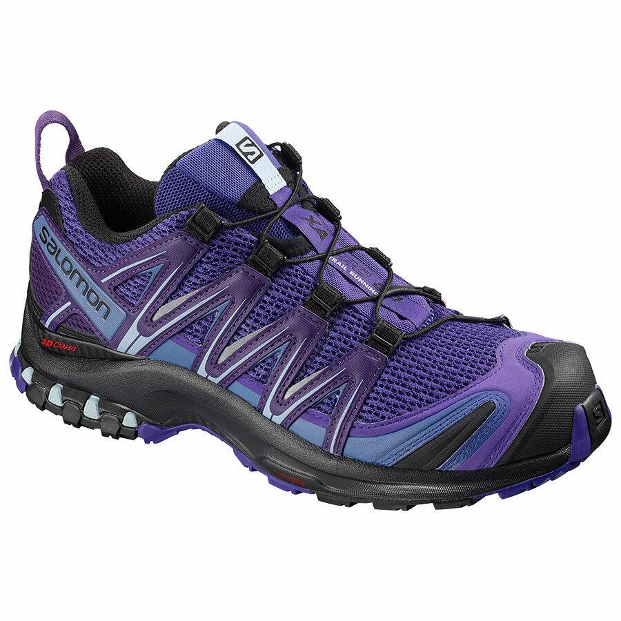 Trail Running Schuhe Ansatz Frau Salomon-Xa pro 3D Deep Blue