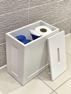 Maine Bathroom Storage Unit White