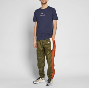hot-selling discount new york exquisite craftsmanship Details about Nike Reissue Joggers Olive/Russet/Sail Men's Woven Pants Size  M