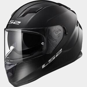 New-LS2-FF320-Stream-Evo-Full-Face-Motorcycle-Helmet-Gloss-Black