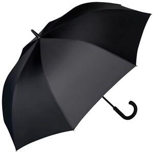 AnpassungsfäHig Regenschirm Automatik Groß Damen Herren Stabil Schwarz Grau Grün Xl Leo Ein BrüLlender Handel