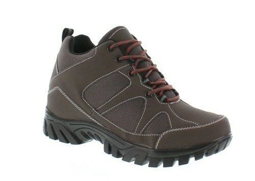 CALDEN FD0101 - 3.6 Inches Elevator Height Increase Brown Fashion Sneakers