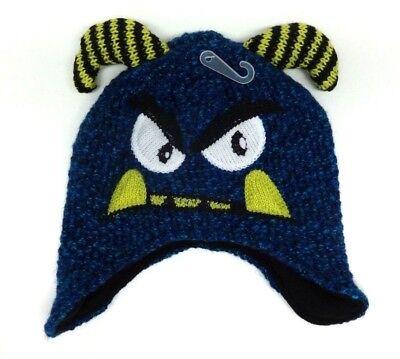 Mütze 104 110 116 Usa 4-7 Jahre S/m Monster Jungenmütze Wintermütze Place Blau Soft And Light Hats Kids' Clothing, Shoes & Accs