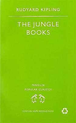 """AS NEW"" Kipling, Rudyard, The Jungle Books (Penguin Popular Classics), Paperbac"