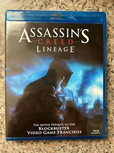 Assassin S Creed Lineage Blu Ray Movie Prequel To The Blockbuster
